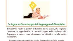 """""""Il mio bambino non parla…"""" – Le tappe nello sviluppo del linguaggio nel bambino"""